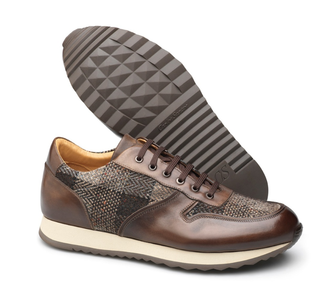 Leather Sneakers - Charles Coimbra-Fur 2